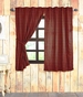 Cumberland Red Black Buffalo Plaid Panel Drapes (63x36)