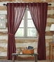 Cumberland Red Black Buffalo Plaid Panel Drapes (84x40)