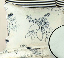 Dandridge Botanical Toile Standard Sham