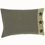 Delaware Black Star PIllowcase (two)
