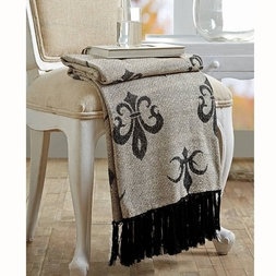 Elysee French Chenille Throw