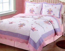 Fairy Princess Garden Quilt Set