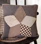 Farmhouse Star Quilted Accent Pillow