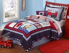 Fireman Engine Ladder 6 Quilt Set