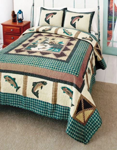 Trout Bed Sheets