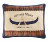 Fishing Tours Canoe Pillow