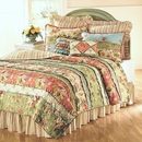 Garden Dream Ruffled Rag Quilt