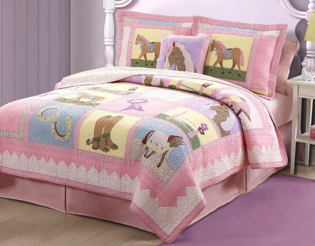 Up Pony Cowgirl Quilt Set : pony quilt - Adamdwight.com