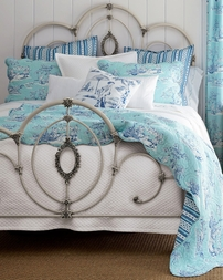 Hampstead Blue Toile by Williamsburg