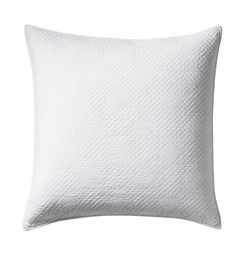 Hampton White Matelasse Pillow