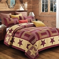 Homestead Red Barn Star Quilt Set