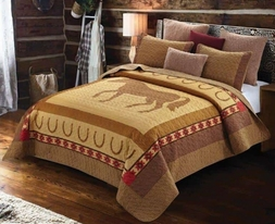 Country Western Horse Quilt Set