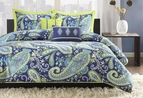 Indigo Paisley Dream Comforter Set