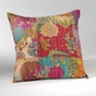 Jewel Moroccan Quilted Pillow