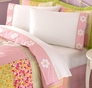 Julia Pink Flower Sheet Set
