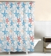 Kalani Starfish Beach Shower Curtain