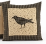 "Kettle Grove 16"" Crow Pillow"