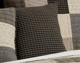 Kettle Grove Plaid Fabric Accent Pillow