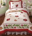 Lady Bug Yard Quilt Set
