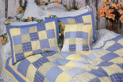 Laura Ann Quilted Sham (1 LEFT IN STOCK)
