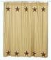 Landon Lone Star Western Shower Curtain