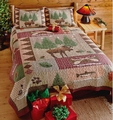 Moose Lodge Quilt Set
