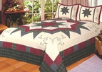 Morning Star Country Quilt Set