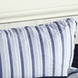 Nantucket Blue Stripe Seersucker Euro Sham