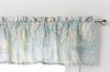 Natural Shells Seashell Aqua Valance
