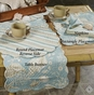 Natural Shells 14 x 70 Table Runner