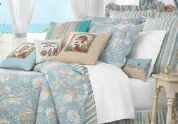 Natural Shells 5 or 7-Piece Quilt Value Set