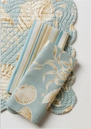 Natural Shells Napkin