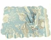Natural Shells Rectangle Placemat