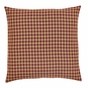 NinePatch Burgundy Check Euro Sham