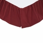 NinePatch Star Burgundy Bed Skirt