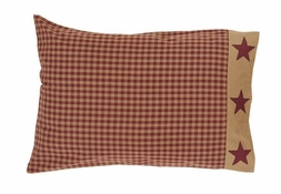 NinePatch Star Plaid Pillowcase (two)