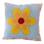 Olivia Pink Flower Accent Pillow