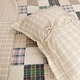 Oxford Madras Plaid Quilt Set