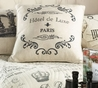 Paris French Hotel de Luxe Pillow