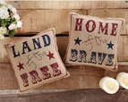 Patriotic Freedom Pillow Set