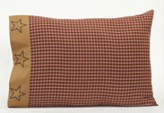 Patriotic Patch Pillowcase (two)