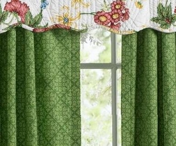 Pembroke Green Drapes by Williamsburg (1 SET LEFT)