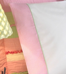Pink Gingham Sheets