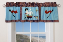 Pirate Treasure Window Valance
