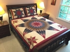 Prairie 8 Point Star Quilt Set