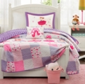 Pretty Ballerina Ballet Dancer Quilt Set