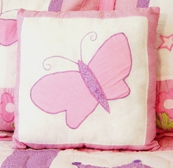 Princess Castles Butterfly Pillow (1 Left in Stock)