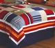 Ronnie Varsity Striped Teen Dorm Quilt Set
