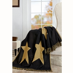 Stratton Cabin Star Woven Throw