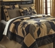 Dakota Rustic Country Black Star Quilt